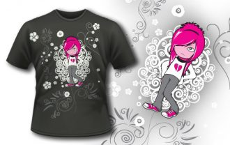T-shirt design 101 T-shirt Designs and Templates kids