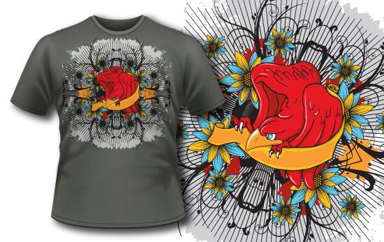 T-shirt design 113 products 113 tattoo eagle tee