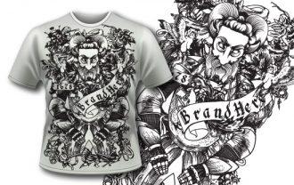 Free T-shirt design 114 Freebies [tag]