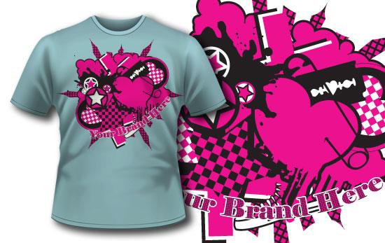 T-shirt design 118 5