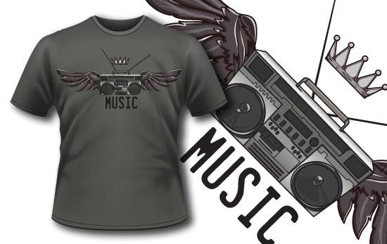 T-shirt design 125 5
