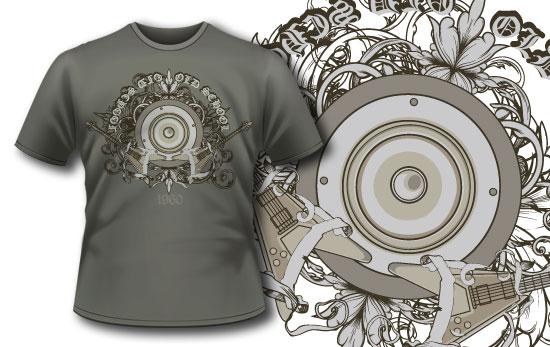 T-shirt design 129 5