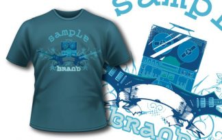 T-shirt design 134 T-shirt designs and templates [tag]