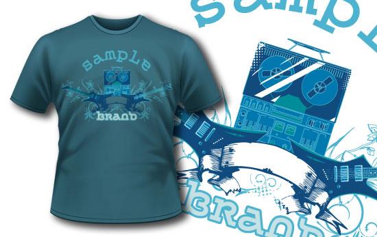 T-shirt design 134 5