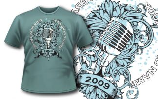 T-shirt design 135 T-shirt designs and templates [tag]