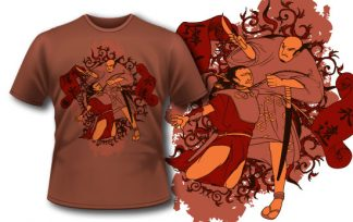 T-shirt design 136 T-shirt designs and templates [tag]