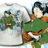 T-shirt design 140 products 139 geisha tee