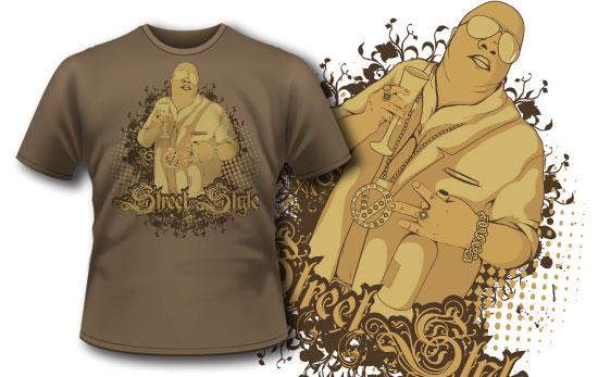 T-shirt design 151 5