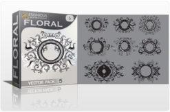 Floral vector pack 5 Floral floral