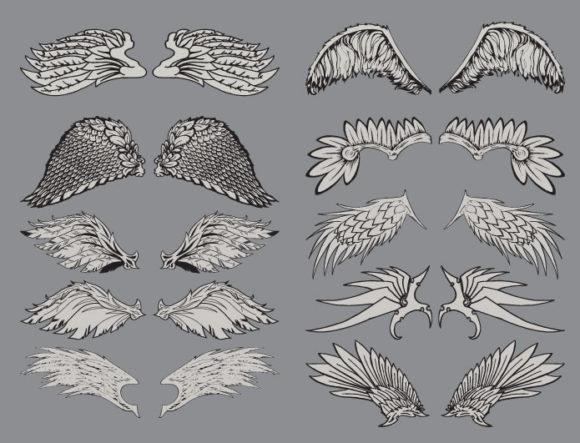 Wings vector pack 2 6