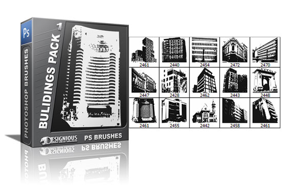 Buidings brushes pack 1 products architecture buildings 1 1