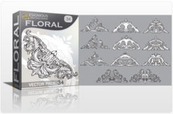 Floral vector pack 34 Floral floral