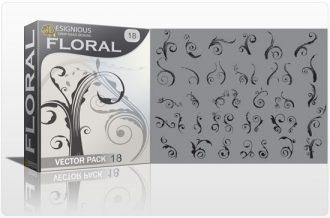 Floral vector pack 18 Floral floral