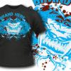 T-shirt design 44 products big teeth cat tee 45