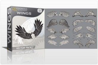 Wings vector pack 2 Wings vector