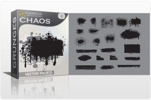 Chaos vector pack 3 Halftones & grunges grunge