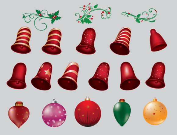 Christmas vector pack 5 2