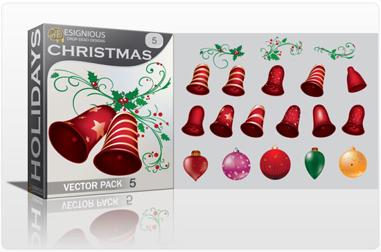 Christmas vector pack 5 1