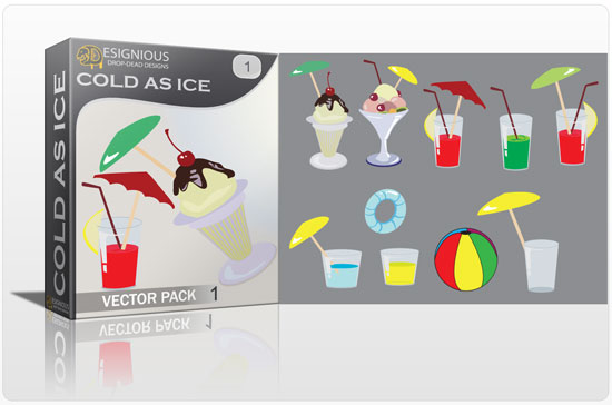 Cold as Ice vector pack Summer ball