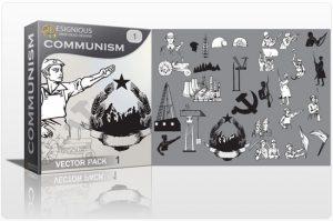 Communism vector pack Communism soldier