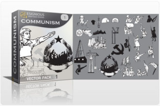 Communism vector pack Communism soldier
