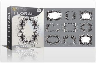 Floral vector pack 24 Floral floral