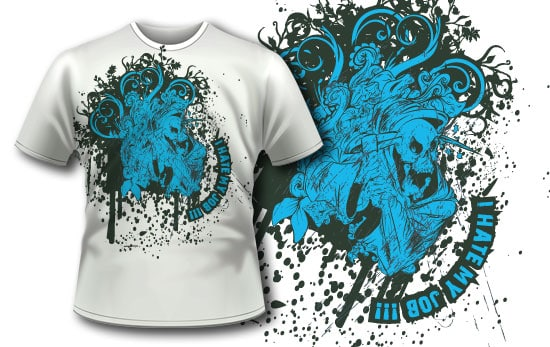T-shirt design 42 5