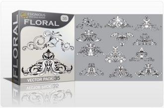 Floral vector pack 35 Floral floral