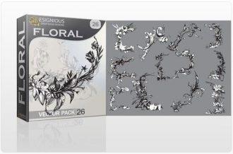 Floral vector pack 26 Floral floral