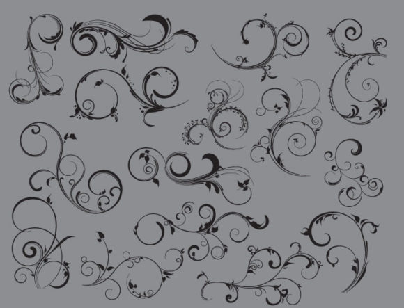 Floral vector pack 37 products floral 37 prewiev
