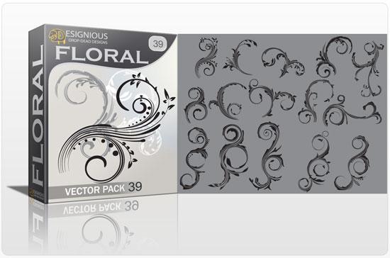 Floral vector pack 39 Floral floral