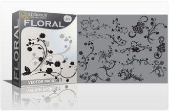 Floral vector pack 41 Floral floral