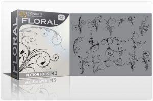 Floral vector pack 42 Floral floral