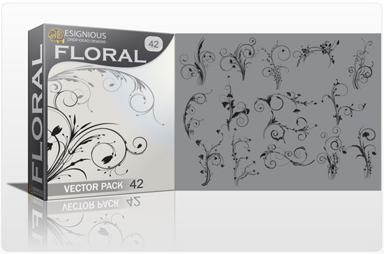 Floral vector pack 42 5