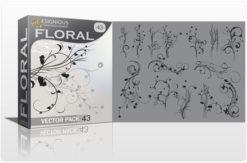 Floral vector pack 43 Floral floral