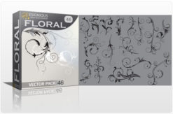 Floral vector pack 44 Floral leaf