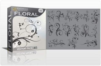 Floral vector pack 45 Floral floral