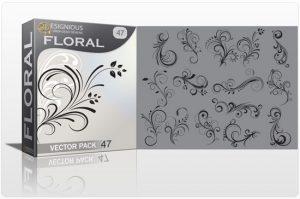 Floral vector pack 47 Floral floral