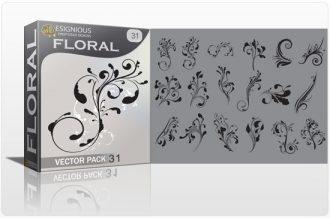 Floral vector pack 31 Floral floral