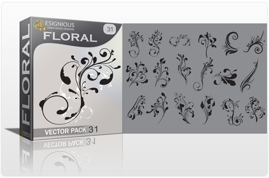 Floral vector pack 31 5