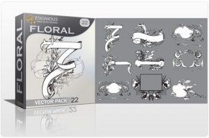 Floral vector pack 22 Floral floral