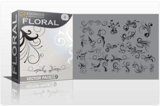 Floral vector pack 9 Floral floral