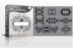 Floral vector pack 4 Floral floral