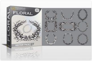 Floral vector pack 27 Floral floral