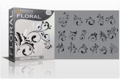 Floral vector pack 30 Floral floral