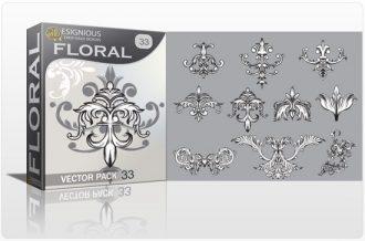 Floral vector pack 33 Floral floral
