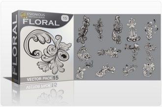 Floral vector pack 15 Floral floral