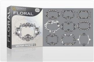 Floral vector pack 23 Floral floral