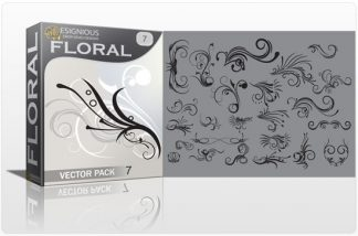 Floral vector pack 7 Floral floral