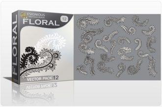 Floral vector pack 12 Floral floral